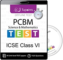 ICSE class 6 PCBM(Physics,Chemistry,Biology,Math) Offline Test