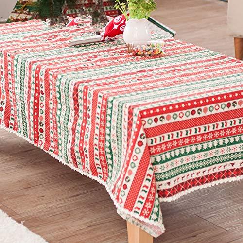 Tablecloth El algodón&mantelería Lino Tejido Impreso