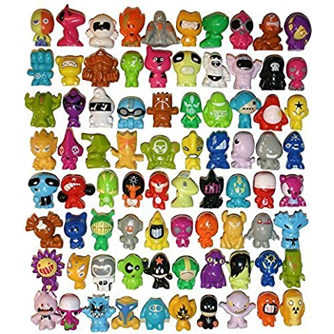 All 80 Gogos Crazy Bones Original Series 1 - Complete Set - In Good Used Condition