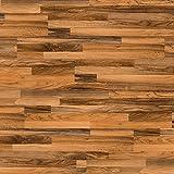 ELESGO S-Klick Laminat Glattkante ( NKL 31 ) Nussbaum 3-Stab + Wood Texture 1299 x 190 x 7 x mm