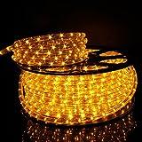 Kefflum LED Lichterschlauch Lichtschlauch Lichterkette Licht Leiste 36LEDs