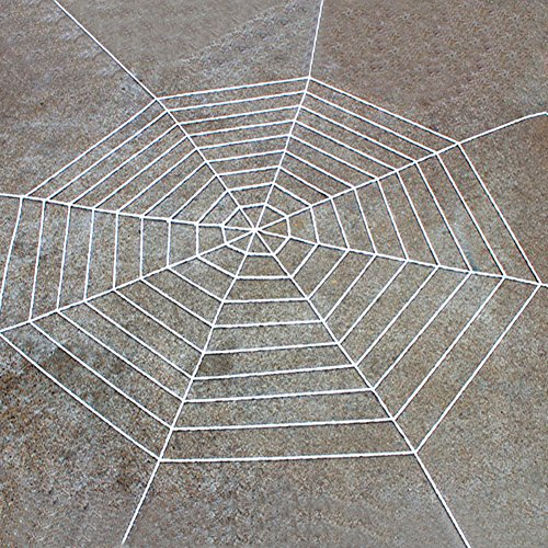Lightclub Spider Web Net Netz Spooky Halloween Party Home Bar Dekoration Prop Spinnennetz 5M weiß