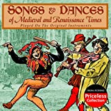 Songs & Dances of Medieval & R [Import allemand]