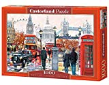 Castorland C-103140-2 - London Collage, 1000-teilig, Klassische Puzzle