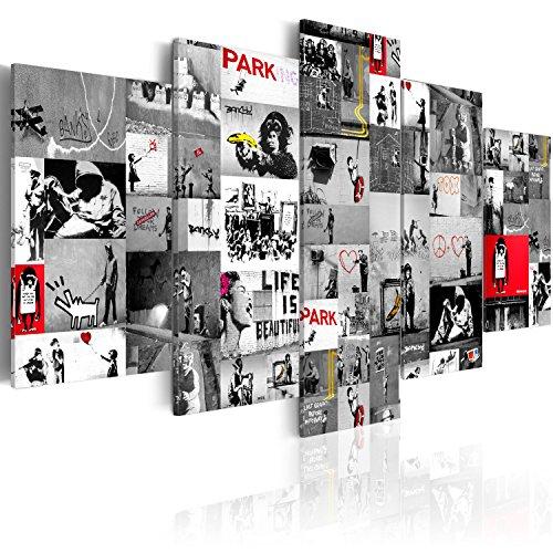 Murando   Cuadro 100x50 cm   Banksy   Lienzo Tejido