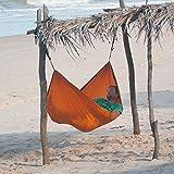 Single-Reisehängematte Colibri - Orange, La Siesta thumbnail