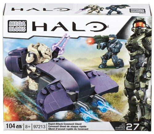 Mega Bloks 97213 - Halo Covenant Ghost, Konstruktionsspielzeug