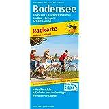 Bodensee und Umgebung: Radkarte mit Ausflugszielen, Einkehr- & Freizeittipps, wetterfest, reissfest, abwischbar, GPS…
