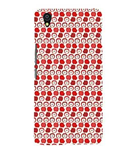 EPICCASE cheeky apple Mobile Back Case Cover For OnePlus X (Designer Case)