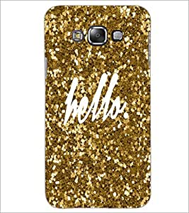 PrintDhaba Hello D-1105 Back Case Cover for SAMSUNG GALAXY A8 (Multi-Coloured)