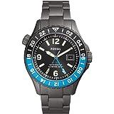 Orologio Fossil Limited Edition FB-GMT Dual Time con cinturino in Titanio Fumo da uomo LE1100