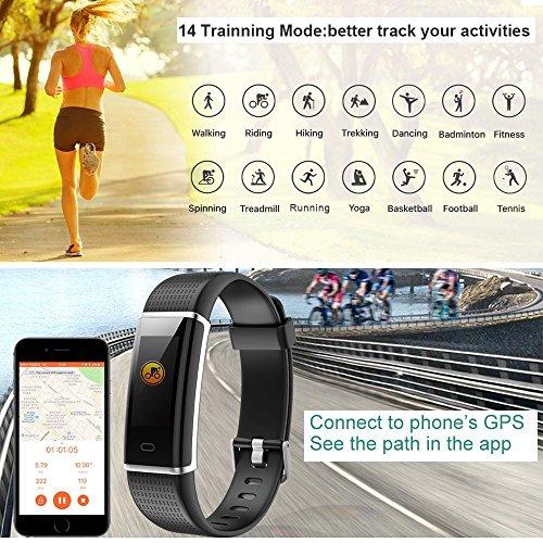 Zoom IMG-2 fitness tracker orologio impermeabile ip68