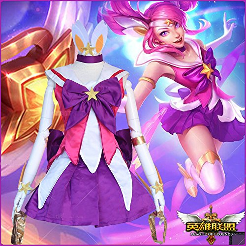 Preisvergleich Produktbild Skylynn--Spiel League of Legends character Lux Spielzeug cosplay kostüm Mailen Sie uns Ihre Größe (L:165-170cm 50-55kg)