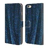 Head Case Designs Offizielle PLdesign Blaue Libellen Abstrakte Photographie Brieftasche Handyhülle aus Leder für iPhone 6 Plus/iPhone 6s Plus
