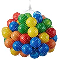 100 Stück bunte Bälle für Kinder, Babys und Tiere , 55mm Durchmesser Kinder ab 0 preisvergleich bei kleinkindspielzeugpreise.eu