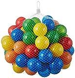 50 pezzi di palline colorate per i bambini, i bambini e gli animali, diametro 55 millimetri, certificato TUV