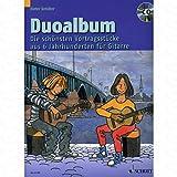 Duo Album-arrangées pour la guitare-avec CD [Notes/sheetm usic]