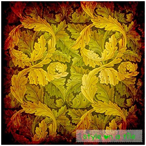 beautiful-art-and-crafts-william-morris-green-autumn-acanthus-sea-holly-design-20cm-8-ceramic-tile-c