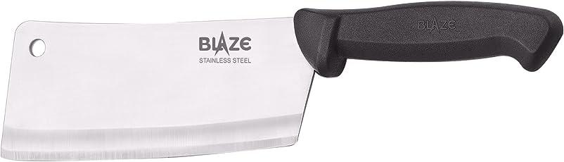 Blaze Multipurpose Stainless Steel Cleaver Knife, Multicolour