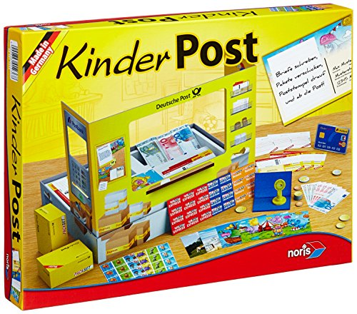 Noris Spiele 606011236 - Kinderpost, Kinderspiel