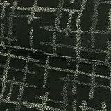 Wollstrick Streifenmuster schwarz-grau Winterstoff - Preis