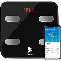Bilancia Grasso Corporeo Bluetooth, Yuanguo Hosome Smart Digitale Corpo Composizione Bilancia Pesapersone per BMI, BFR…