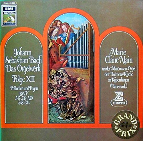 534 Serie (Bach: Das Orgelwerk, Folge XII (Präludien und Fugen BWV 547, 539, 550, 548, 534) [Vinyl LP] [Schallplatte])