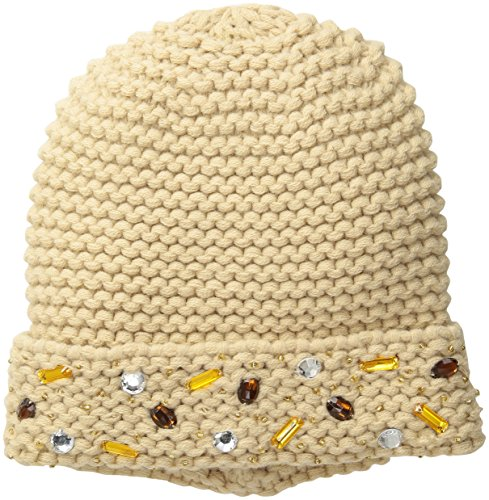 san-diego-hat-company-womens-beanie-with-faux-gems-hand-stitched-on-the-cuff-camel-one-size