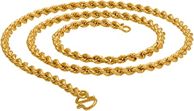 Dare By Voylla Rope Link Chain Inspired by Golden Links For Men