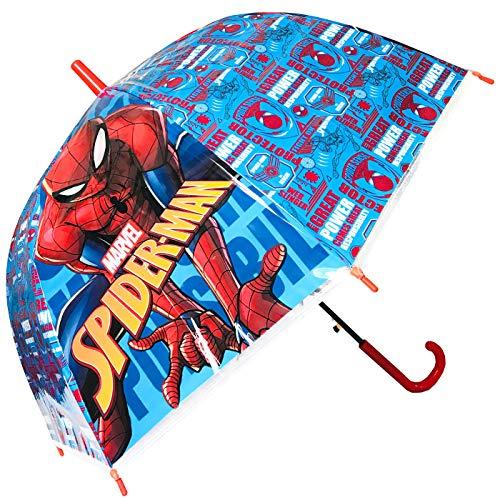 Paraguas Spiderman Paraguas Cúpula Automático Infantil Niño 45cm