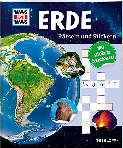 Rätseln und Stickern: Erde (WAS IST WAS Rätselhefte)