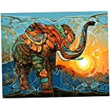 MagiDeal DIY Digital Painting By Numbers Kit Unframed Mediterranean Style On Canvas Painting For Drawing Learning - #10, As Described