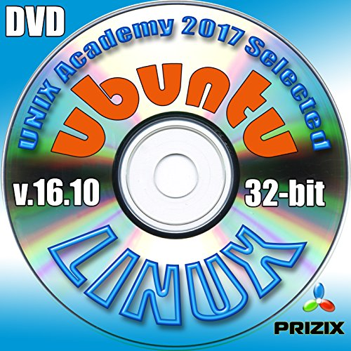 Ubuntu 16.10 DVD sous Linux 32 bits Installation complète Comprend examen gratuit UNIX Académie évaluation