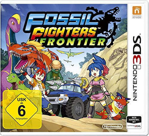 Fossil Fighters Frontier - Fossil Top