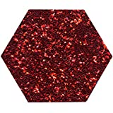 1 KG Kilo RED GLITTER ULTRA FINE WINE GLASS ART AND CRAFT NAIL ART SCRAPBOOKING NON TOXIC