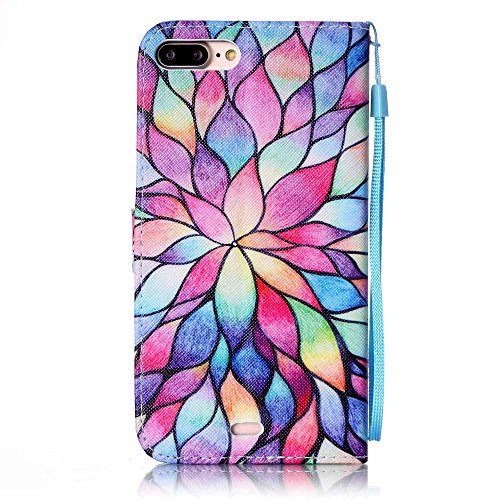 Iphone 7 Hülle, Linvei leder Hülle für Iphone 7 Flip Case ,Magnetic closure Apple 7 hülle, Schutz vor Dreck für Iphone 7 Taschen Schale Color 17