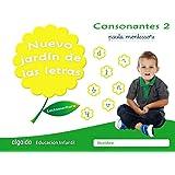 Nuevo jardín de las letras. Consonantes 2. Pauta.: Lectoescritura Pauta (Educación Infantil Algaida. Lectoescritura) - 978849