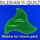 Silesian Quilt Template For Patchwork Mallow For Charm Pack