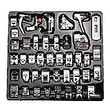 icase4u Kit de 42 Piezas Multifuncional Prensatelas Accesorios para Máquina de Coser Presser Foot...