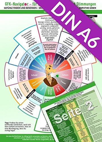 GFK-Navigator für Gefühle, Emotionen und Stimmungen (2018) Pocket Edition (DINA6 Format für die Hosentasche) Gefühle finden und benennen - sich ... - Mit über 100 Gefühlsbegriffen - Book Pocket Positiven Der