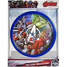 Marvel MV92314 - Reloj de Pared (25 cm), diseño de los Vengadores