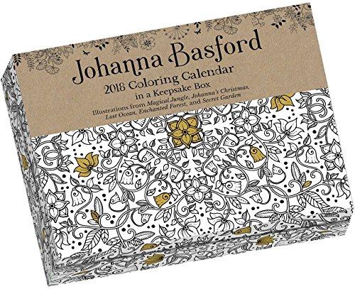 Johanna Basford 2018 Coloring Day-to-Day Calendar -