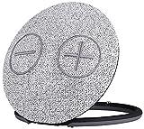 Imperial 22-9055-00 Bas 3 mobiler Wireless Stereo-Lautsprecher (Bluetooth 4.1, Oberfläche aus Gewebter Baumwolle, microSD-Kartenleser, Aux-In, 2X 5Watt) Hellgrau-schwarz
