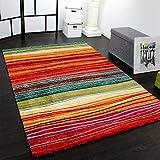 Paco Home Teppich Modern Splash Designer Teppich Bunt Streifen Model Neu OVP, Grösse:120x170 cm