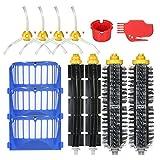 Weehey Reabastecimiento del Kit de Accesorios de reemplazo de filtros 10pcs para iRobot Roomba Serie 600 690 691 694 650 651 664 615 601 630 Aspirador