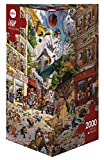 Heye 29577 - Dreieckspuzzle, Jean-Jaques Loup, Apocalypse, 2000 Teile