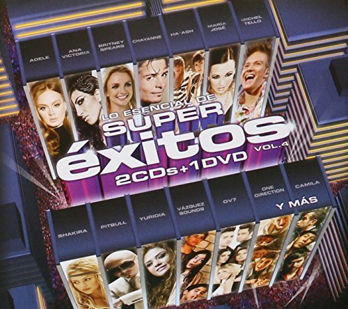 LO ESENCIAL DE SUPER EXITOS VOL. 4 (2 CD'S + 1 DVD) by Chris Brown Britney Spears Foster the peole Hot Chele Rae Vazquez Sounds One dir (0100-01-01)