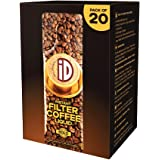 iD 100% Authentic Instant Filter Coffee Decoction - Pack of 20 , 400ml Coffee Liquid (20ml x 20)
