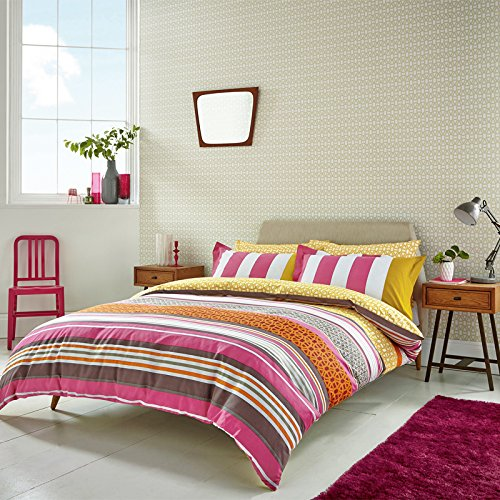 scion-bedding-lace-stripe-double-duvet-cover-set-raspberry