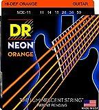 DR Strings NEON 11-50  Jeu de Cordes pour Guitare Electrique Orange